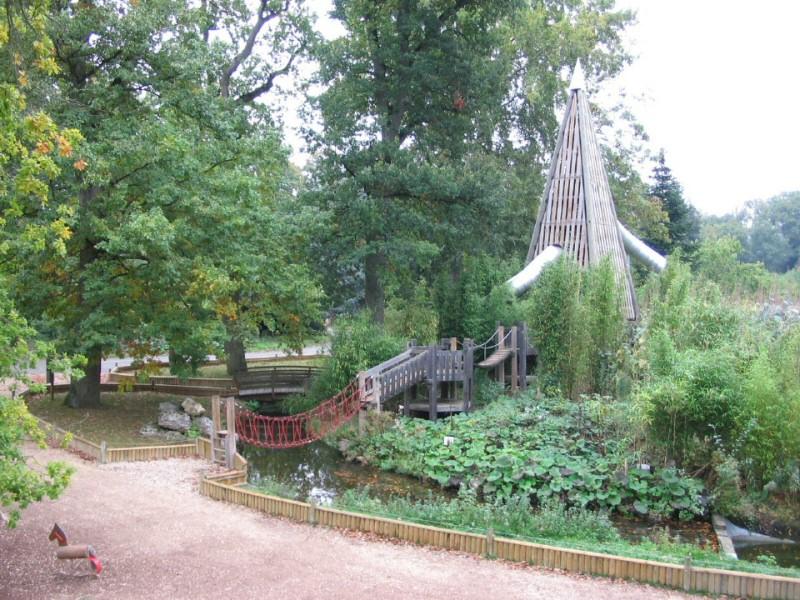 Parc zoologique de thoiry conception et r alisation d for Parc zoologique 78